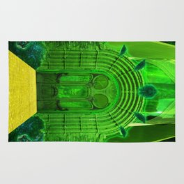 The Emerald City of Oz Rug
