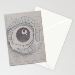 The eye of the beholder Stationery Cards