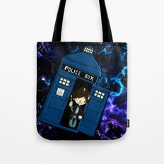 Tardis in space Doctor Who 2 Tote Bag
