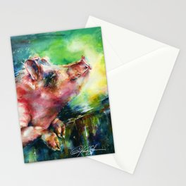 Charlie - by Kathy Morton Stanion Stationery Cards