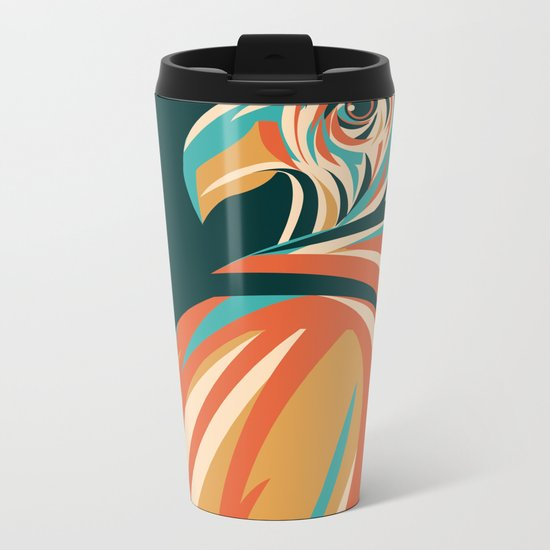 Hawk Metal Travel Mug