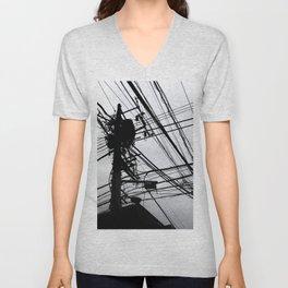 Tokyo wires Unisex V-Neck