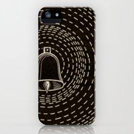 Vintage Sound Waves iPhone Case
