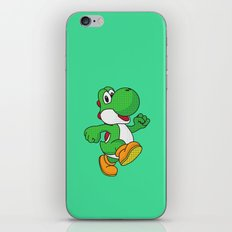 Yoshi Pop Art - Green iPhone & iPod Skin