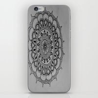 silent iPhone & iPod Skins featuring Silent by Katie Duker