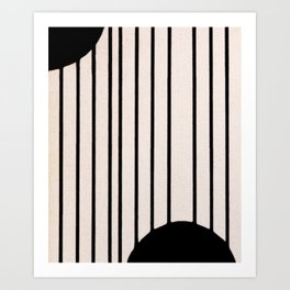 Simple Connections 5 Art Print