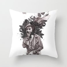 Allergic Throw Pillow