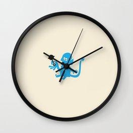 BORN A MUTANT Wall Clock