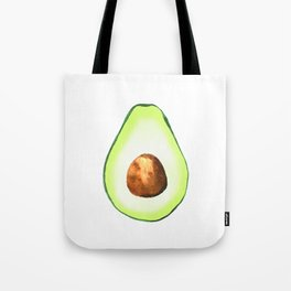 Half Avocado. Tropical Fruit. Tote Bag