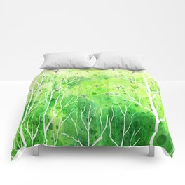 Beautiful Forest Comforters