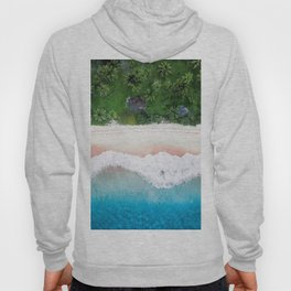 Aerial Tropical Beach Hoody