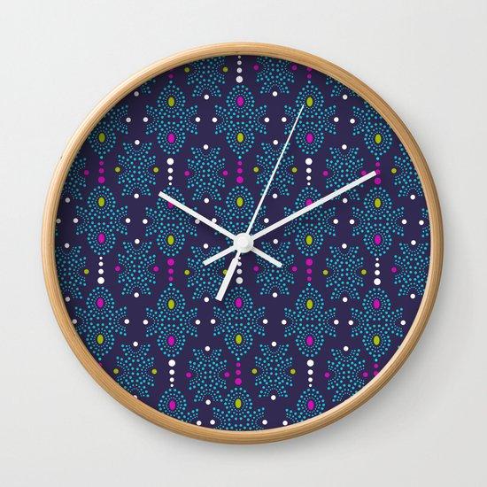 Stella Pattern Wall Clock