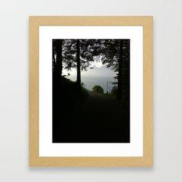 Canopy Framed Art Print