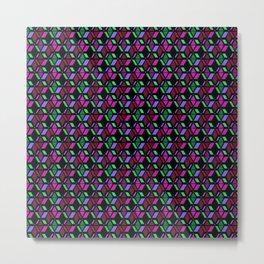 Lola , retro , abstract , geometric , triangles Metal Print