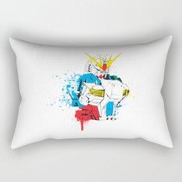 Gundam Splash Art Rectangular Pillow