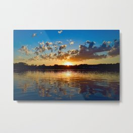 """Evening Reflections"" Metal Print"