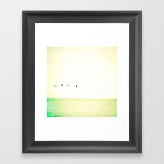 Flight 2.0 Framed Art Print