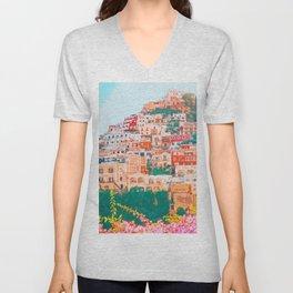 Positano, beauty of Italy Unisex V-Neck