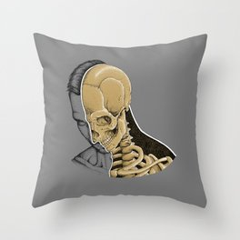 i'm fine Throw Pillow