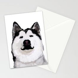 Husky Dog Stationery Cards