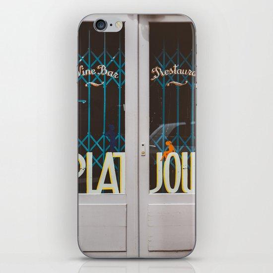 Plat du Jour iPhone & iPod Skin