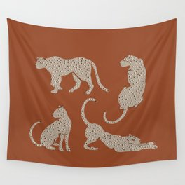 Leopard Block Party Wall Tapestry
