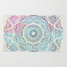 Watercolor Mandala Rug