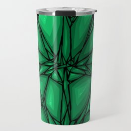 Green diamond Travel Mug