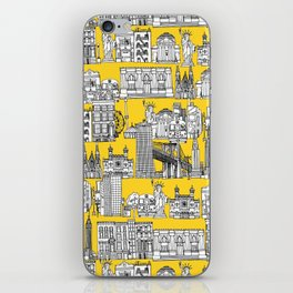 New York yellow iPhone Skin