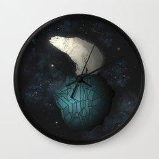 Bear Cosmos Wall Clock