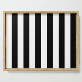 Blu Stripes Serving Tray