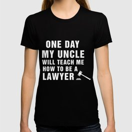Great Shirt For Niece/Nephew. Costume From Lawyer T-shirt