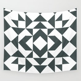 Modern Quilt Block Wall Tapestry