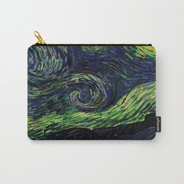 Van Gogh, nuit étoilée, the starry night– Van Gogh,Vincent Van Gogh,impressionist,post-impressionism Carry-All Pouch