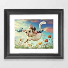 Catsy Framed Art Print