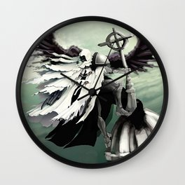 Judgment Angel Wall Clock