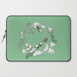 Forest Wreath Laptop Sleeve