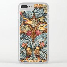 """William Morris """"Acanthus and vine"""" 2. Clear iPhone Case"""
