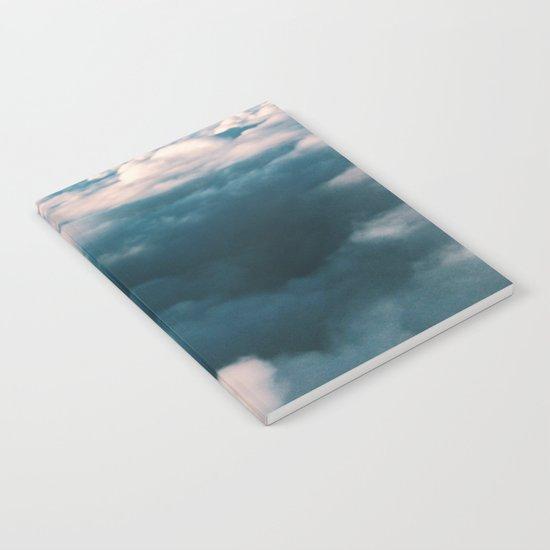 Blue Clouds Notebook