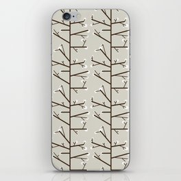 Spring is just around the corner - Fabric pattern iPhone Skin
