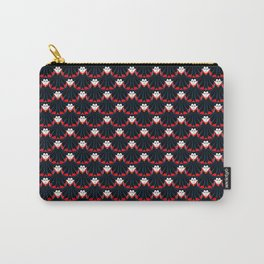 vampire repeat pattern Carry-All Pouch