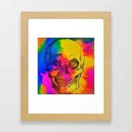 Ode To Skully Framed Art Print
