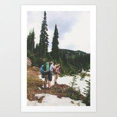 TRECK Art Print