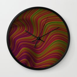 Wavy Waves Wall Clock