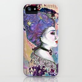 The Elizabethan Librarian iPhone Case