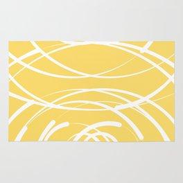 Yellow Flow 2 Rug