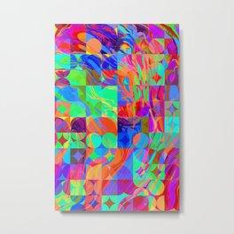 Geometric IX Metal Print