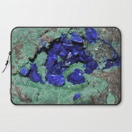 Azurite and Malachite Laptop Sleeve