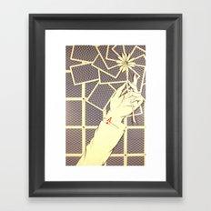 Ace Up My Sleeve Framed Art Print