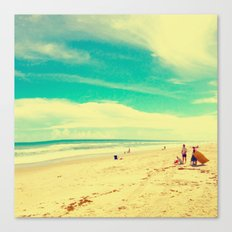 Beach Life Canvas Print